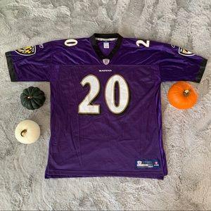 Ed Reed #20 Baltimore Ravens Jersey Reebok
